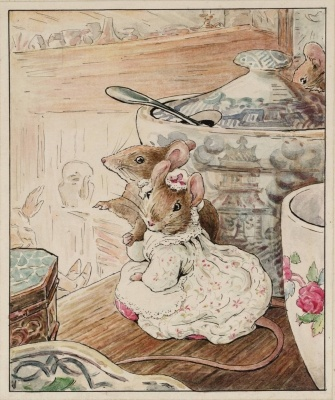The Mice Listen to the Tailor's Lament circa 1902 Helen Beatrix Potter 1866-1943 Presented by Capt. K.W.G. Duke RN 1946 http://www.tate.org.uk/art/work/A01098