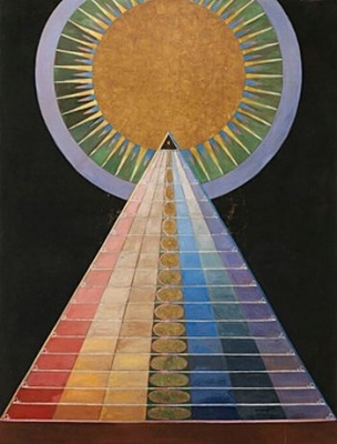 hilma at klint-Altar Painting, no.1-1915